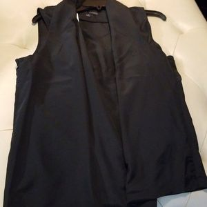 Harve Barnard Black blouse sz medium
